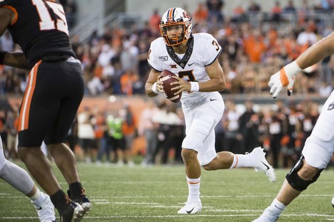 Tulsa vs. Oklahoma State - 9/14/19 College Football Pick, Odds, and Prediction