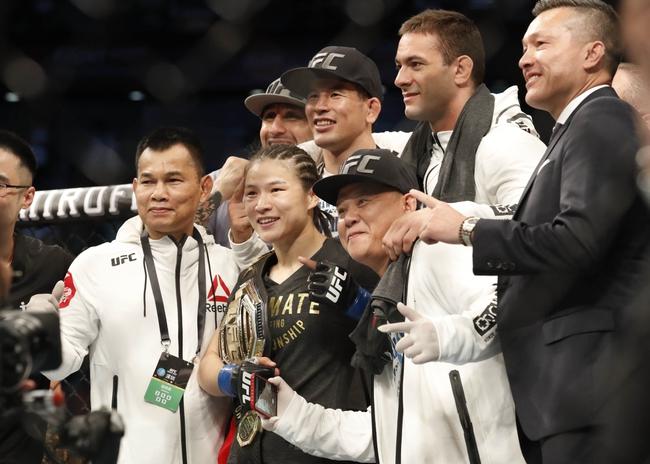 Joanna Jedrzejczyk vs. Weili Zhang - 3/7/20 UFC 248 Pick, Odds, and Prediction