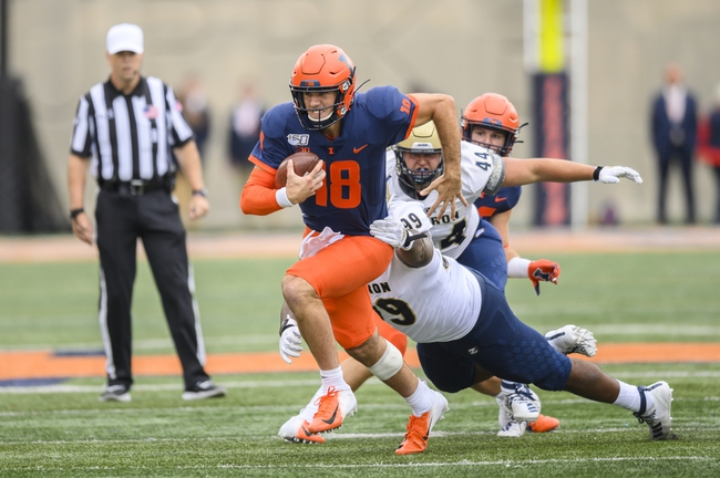 UConn vs. Illinois - 9/7/19 College Football Pick, Odds, and Prediction