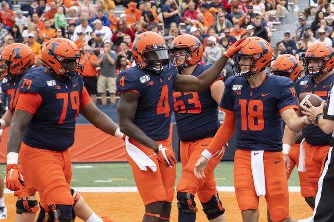 Illinois vs. Eastern Michigan - 9/14/19 College Football Pick, Odds, and Prediction