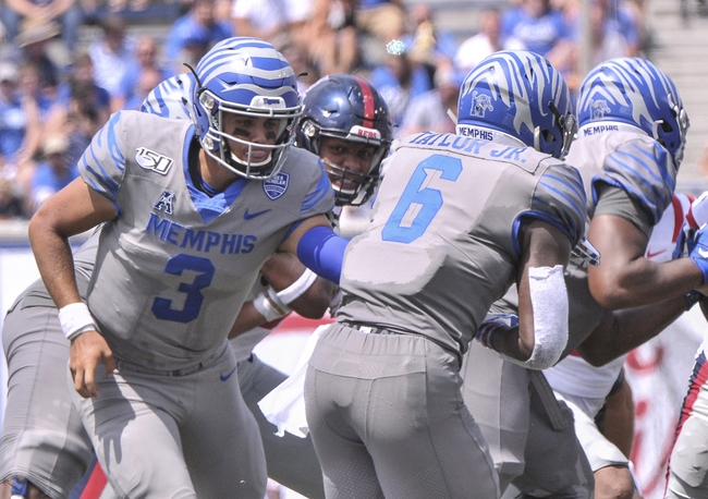 South Alabama vs. Memphis - 9/14/19 College Football Pick, Odds, and Prediction