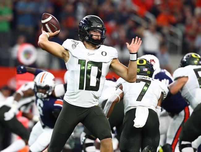 Oregon vs. Nevada - 9/7/19 College Football Pick, Odds, and Prediction