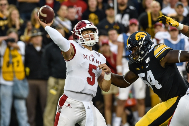 Miami (OH) vs. Tennessee Tech - 9/7/19 College Football Pick, Odds, and Prediction