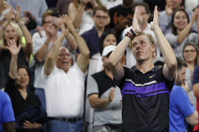 Alexander Bublik vs. Denis Shapovalov - 2/21/20 Marseille Open Tennis Pick, Odds, and Predictions