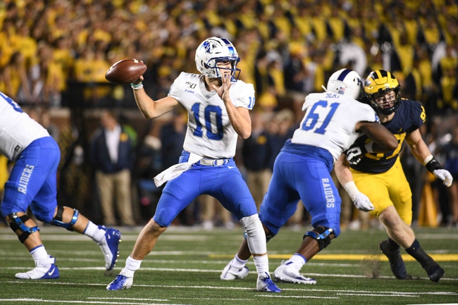 Middle Tennessee vs. Tennessee State - 9/7/19 College Football Pick, Odds, and Prediction