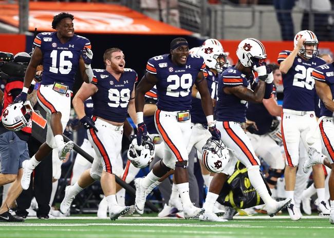 Auburn 2020 Win Total - College Football Pick and Prediction
