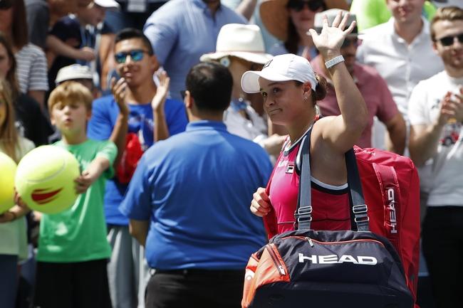 Ashleigh Barty vs. Polona Hercog - 1/22/20 Australian Open Tennis Pick, Odds, and Prediction