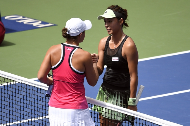 Ashleigh Barty vs. Belinda Bencic - 10/27/19 Shenzhen Tennis Pick, Odds, and Prediction