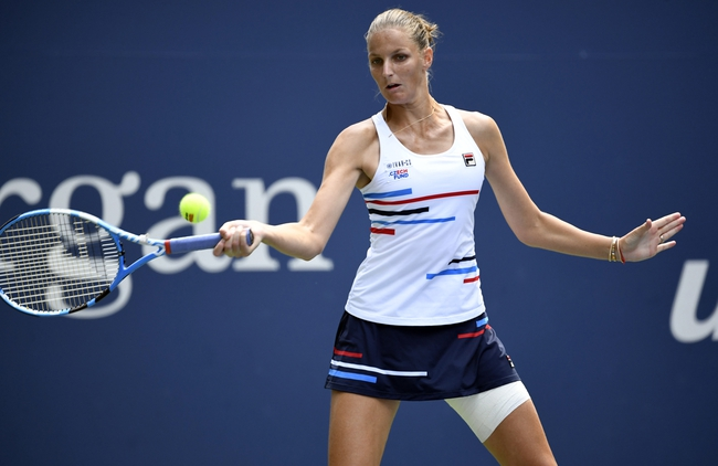 Kristina Mladenovic vs. Karolina Pliskova - 2/19/20 Dubai Open Tennis Pick, Odds, and Predictions