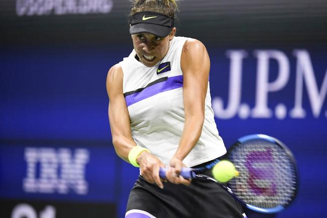 Madison Keys vs. Zarina Diyas - 9/18/19 Pan Pacific Open Tennis Pick, Odds, and Prediction