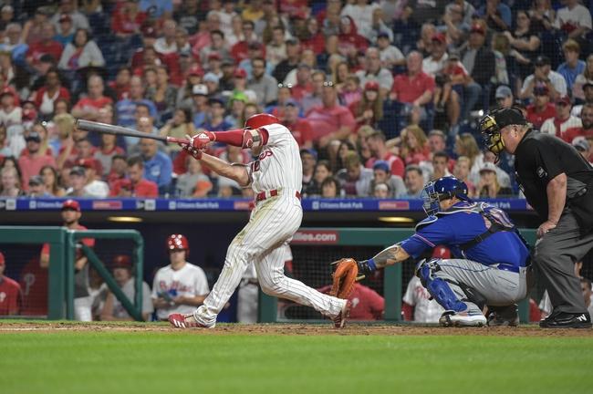 New York Mets vs. Philadelphia Phillies - 9/6/19 MLB Pick, Odds, and Prediction