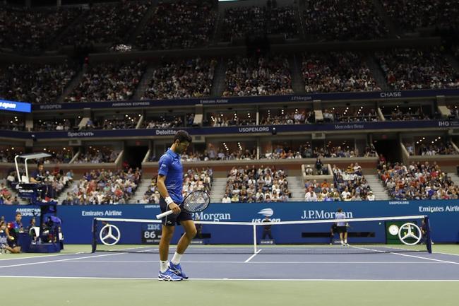 Novak Djokovic vs. Stefanos Tsitsipas - 10/11/19 Shanghai Masters Tennis Pick, Odds, and Prediction