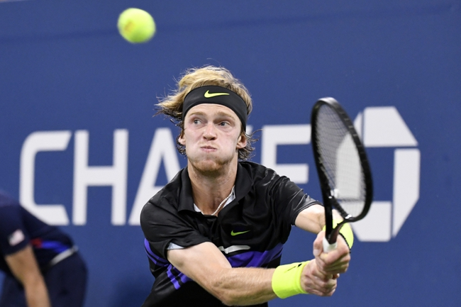 Andrey Rublev vs. Filip Krajinovic - 2/14/2020 Rotterdam Open Tennis Pick, Odds, and Prediction