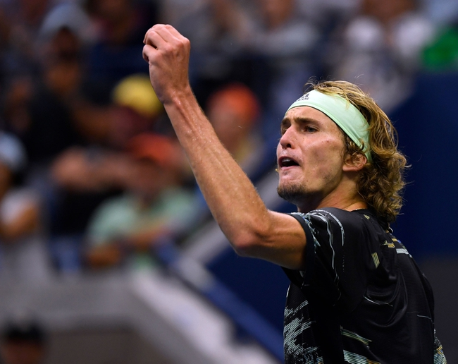 Alexander Zverev vs. Kevin Anderson - 8/31/20 US Open Tennis Pick, Odds, and Prediction