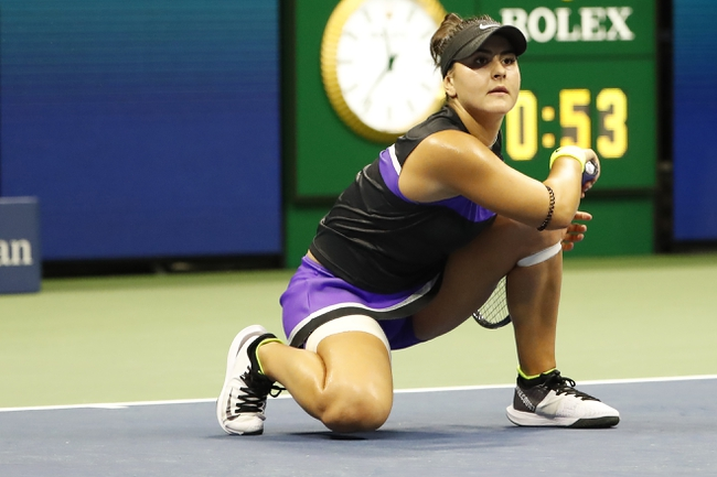 Bianca Andreescu vs. Naomi Osaka - 10/4/19 China Open Tennis Pick, Odds, and Prediction