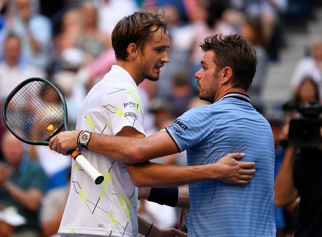 Daniil Medvedev vs. Stan Wawrinka - 1/27/20 Australian Open Tennis Pick, Odds, and Prediction