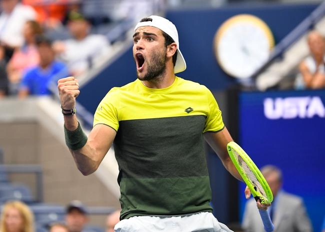 Matteo Berrettini vs. Dominic Thiem - 6/28/20 Ultimate Tennis Showdown Tennis Pick, Odds, and Prediction