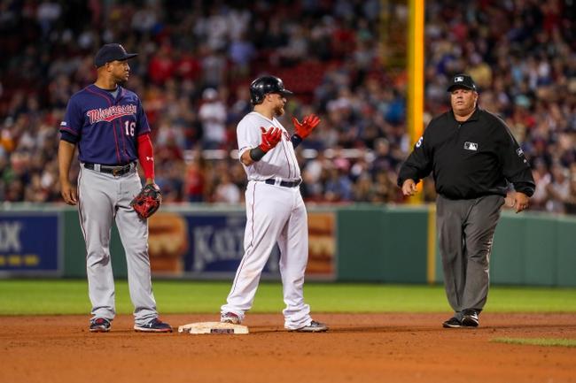 Boston Red Sox vs. Minnesota Twins - 9/5/19 MLB Pick, Odds, and Prediction