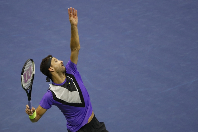 Grigor Dimitrov vs. Borna Coric - 6/20/20 Adria Tour Tennis Picks, Odds, and Predictions