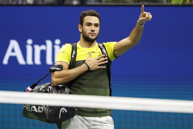 Matteo Berrettini vs. Ugo Humbert 9/3/20 US Open Tennis Pick, Odds, and Prediction