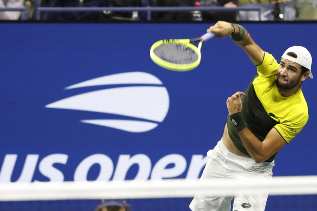 Feliciano Lopez vs. Matteo Berrettini - 6/20/20 Ultimate Tennis Showdown Tennis Pick, Odds, and Predictions