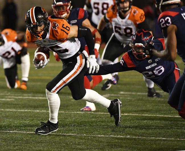 BC Lions vs. Ottawa Redblacks CFL Pick, Odds, Prediction - 9/13/19