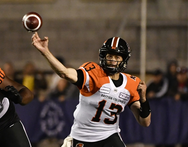 Calgary Stampeders at BC Lions - 11/2/19 - CFL Picks & Predictions