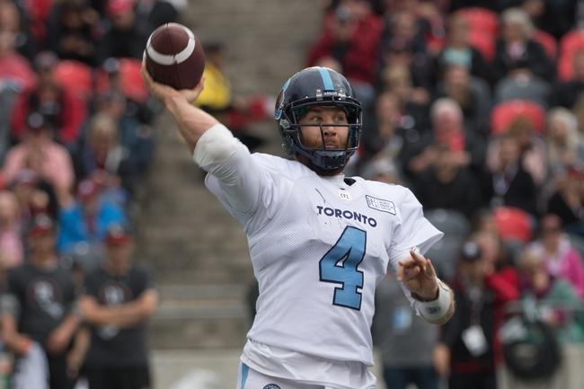 Toronto Argonauts vs. Ottawa RedBlacks - 10/26/19 CFL Pick, Odds, and Prediction