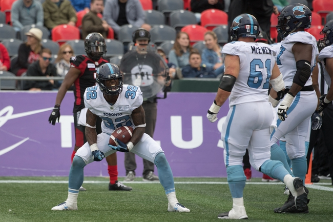 Toronto Argonauts vs. Ottawa Redblacks - 10/11/19 CFL Pick, Odds, and Prediction