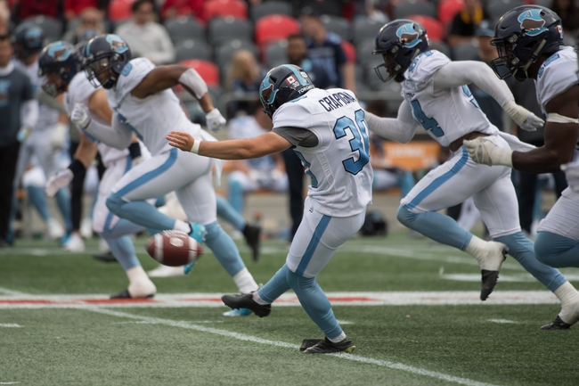 Toronto Argonauts vs. Saskatchewan Roughriders CFL Pick, Odds, Prediction - 9/28/19