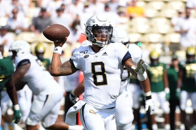 Georgia Tech vs. The Citadel - 9/14/19 College Football Pick, Odds, and Prediction