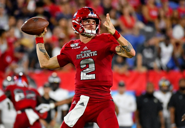 UMass at Florida Atlantic 11/20/20 College Football Picks and Predictions
