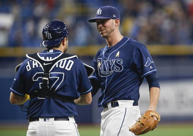Tampa Bay Rays vs. Toronto Blue Jays - 9/8/19 MLB Pick, Odds, and Prediction