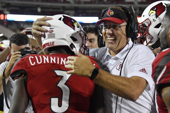 Louisville vs. Western Kentucky - 9/14/19 College Football Pick, Odds, and Prediction