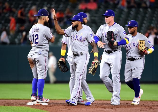 Baltimore Orioles vs. Texas Rangers - 9/8/19 MLB Pick, Odds, and Prediction