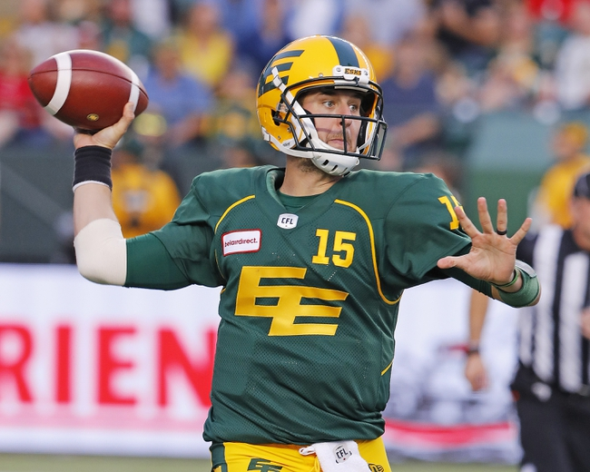 Edmonton Eskimos at Saskatchewan Roughriders - 11/2/19 - CFL Picks & Predictions
