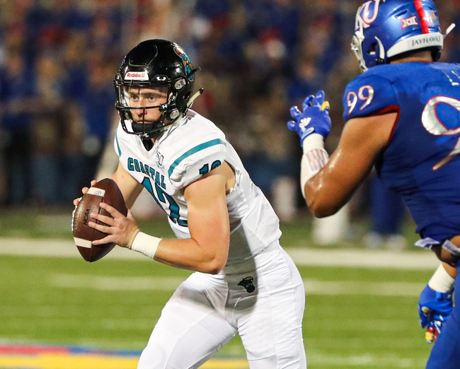 Arkansas State vs. Coastal Carolina - 11/16/19 College Football Pick, Odds, and Prediction