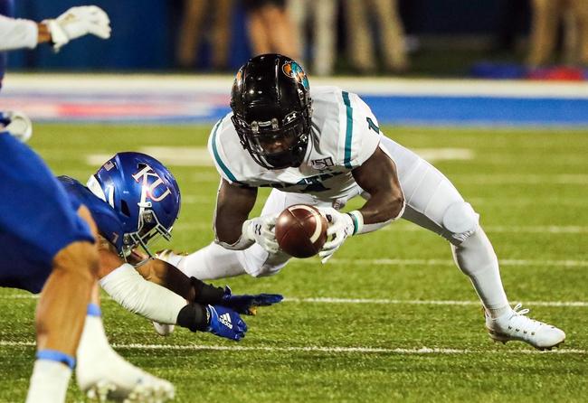 Coastal Carolina Chanticleers 2020 Win Total - College Football Pick, Odds, and Prediction