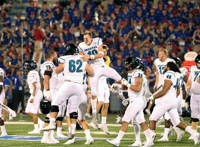 Coastal Carolina at Arkansas State -11/16/19 College Football Pick, Odds, and Prediction
