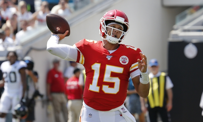 Oakland Raiders vs. Kansas City Chiefs - 9/15/19 NFL Pick, Odds, and Prediction