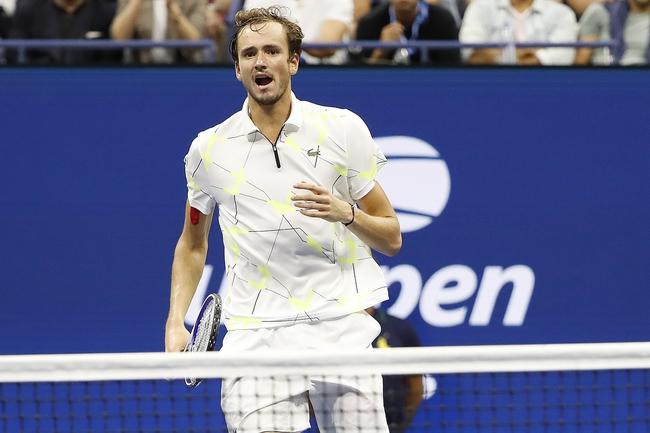 Daniil Medvedev vs. Stefanos Tsitsipas - 11/11/19 ATP Finals Tennis Pick, Odds, and Prediction