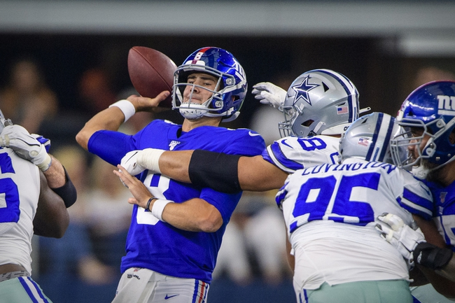 Dallas Cowboys at New York Giants - 11/4/19 NFL Pick, Odds, and Prediction