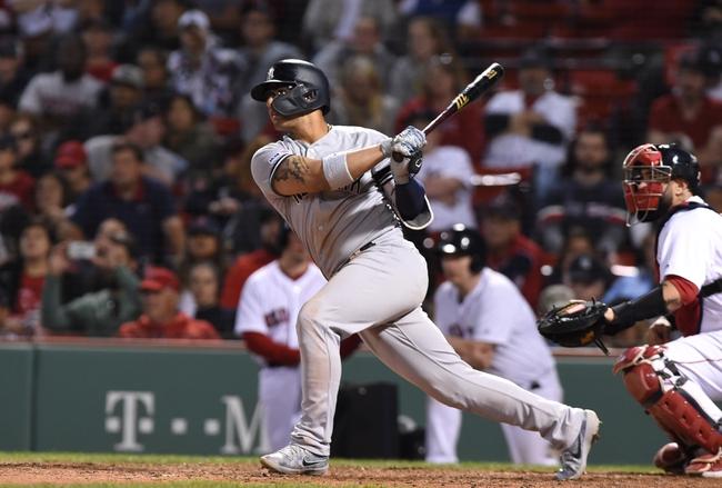Boston Red Sox vs. New York Yankees - 9/9/19 MLB Pick, Odds, and Prediction
