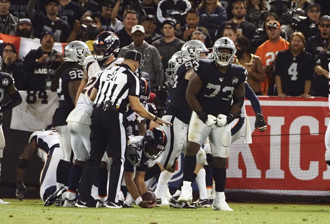 Oakland Raiders at Denver Broncos - 12/29/19 NFL Pick, Odds, and Prediction