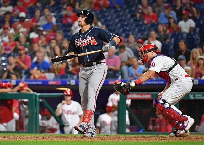 Philadelphia Phillies vs. Atlanta Braves - 9/11/19 MLB Pick, Odds, and Prediction
