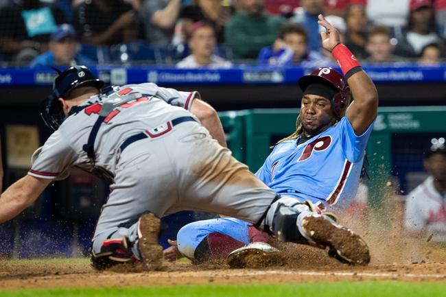Atlanta Braves vs. Philadelphia Phillies - 9/17/19 MLB Pick, Odds, and Prediction