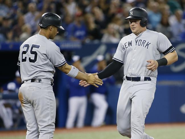 Toronto Blue Jays vs. New York Yankees - 9/14/19 MLB Pick, Odds, and Prediction