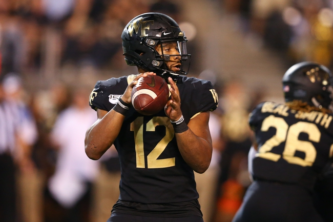 Wake Forest vs. Elon - 9/21/19 College Football Pick, Odds, and Prediction