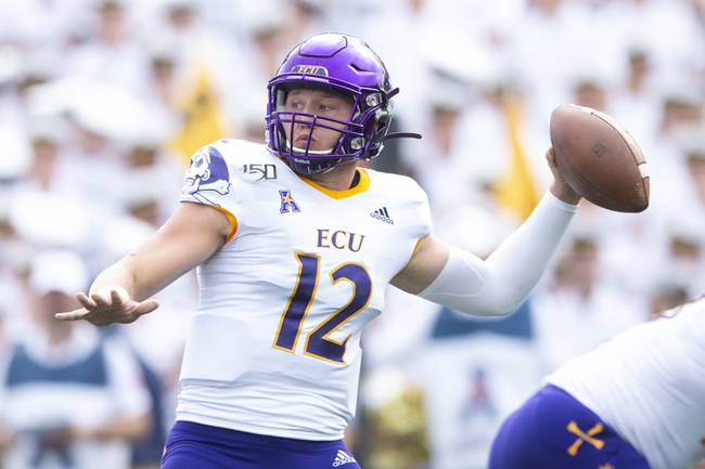 East Carolina vs. William & Mary - 9/21/19 College Football Pick, Odds, and Prediction