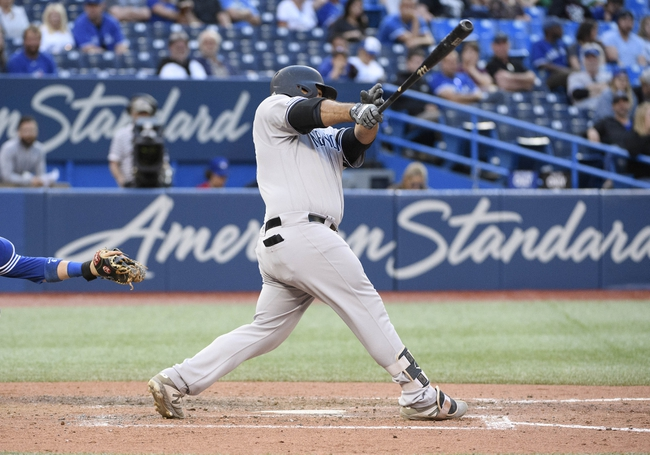 Toronto Blue Jays vs. New York Yankees - 9/15/19 MLB Pick, Odds, and Prediction